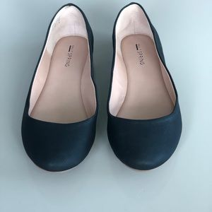 Call It Spring Black Ballet Flats